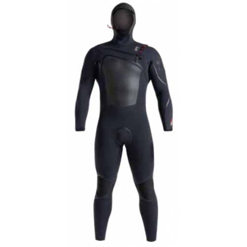 C Skins Wired Plus 6:5 Men Hooded Chest Zip Wetsuit 2020/21