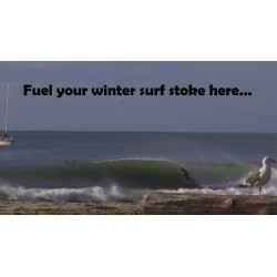 Get some winter surf stoke here...