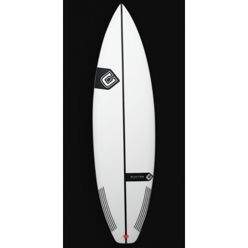 Clayton 6'0 X 19 2/4 X 2 3/8 28.9L Ned Kelly Shortboard Surfboard