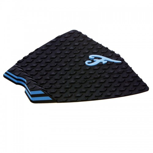 Famous Surf Supply- The Fillmore Blue Black Surfboard Traction Pad 3 Piece Deck Grip