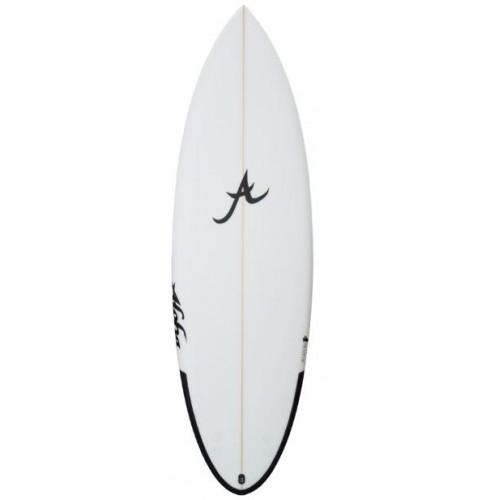 Aloha - 6'2 Jalapeno PU Future Shortboard Surfboard Clear